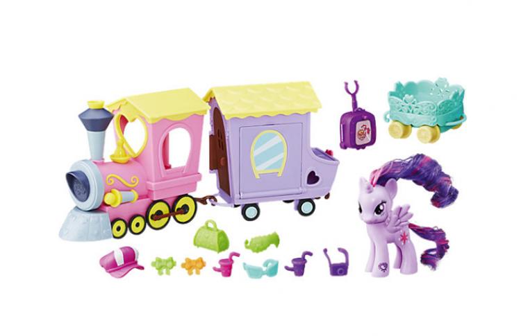 Игровой набор My Little Pony Поезд дружбы