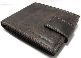 Кошелек мужской кожаный портмоне Польша черный N992L-MCR Black