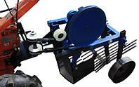 Картофелекопатель грохотный ременной (Z105) под ВОМ Премиум (одноэксцентр. с переходником для возд.)