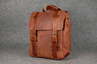 Мужской рюкзак HANKLE H1  13202  Коньяк + Коньяк