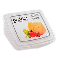 Емкость для хранения сыра 0,75л 155*140*90мм