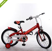 Велосипед двухколёсный детский 14 дюймов Profi Original W14115-1 красный ***