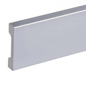 Плінтус для підлоги фарбований Cezar Elegance LPC-23 Срібний браш