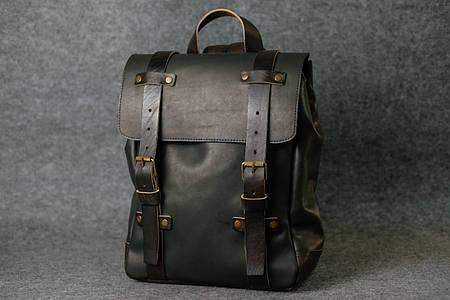 Мужской рюкзак HANKLE H1  13207  Черный + Кофе