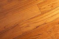 "Массивная доска ""Brand Wood"", Тик Мedium под лаком 600-1200х120х18 мм, арт. 120TM-MD"