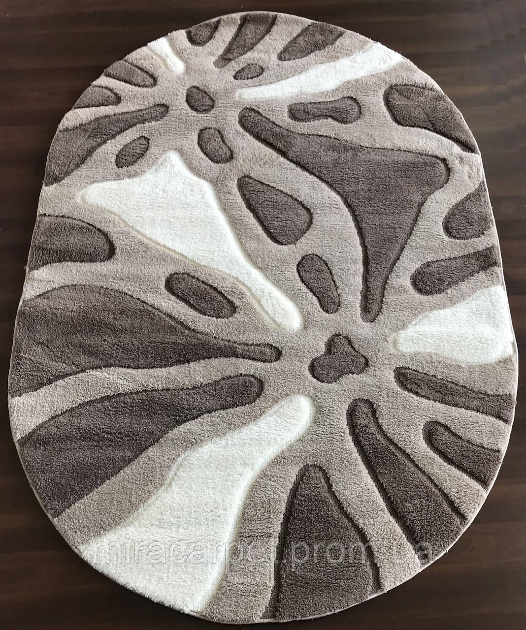 Ворсовые овальные ковры турецкие