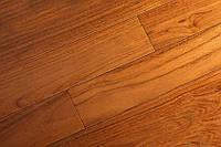 "Массивная доска ""Brand Wood"", Тик Dark под лаком 600-1200х90х15 мм, арт. 90TD-MD"