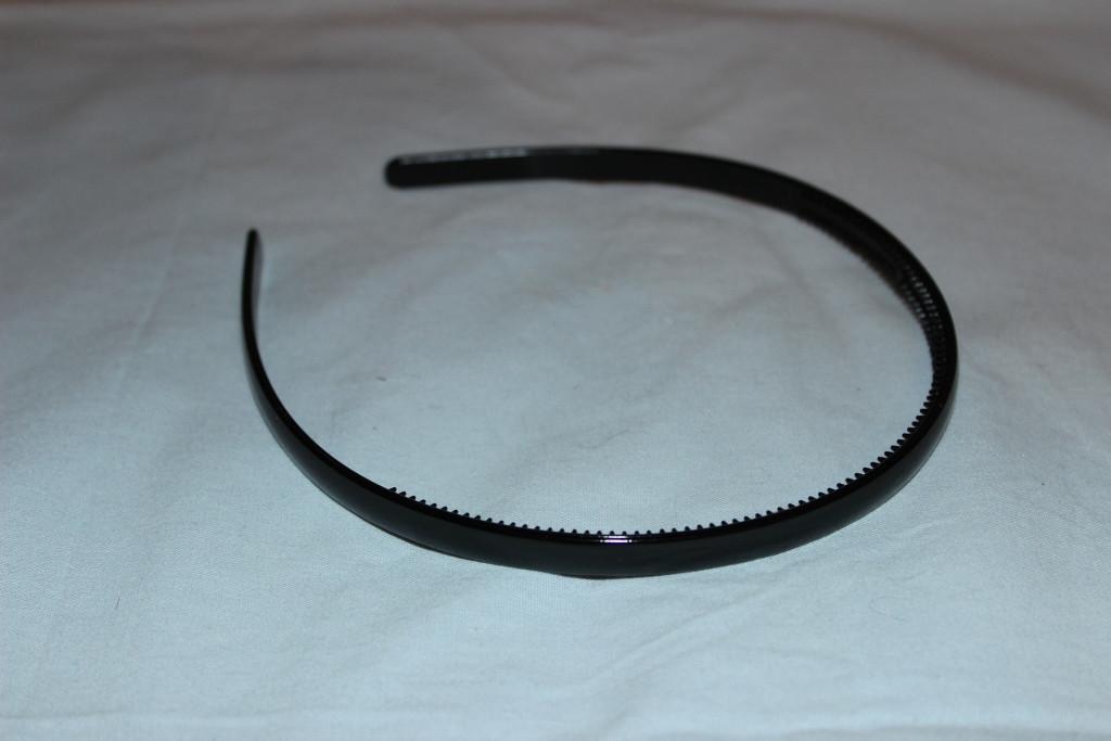 Обруч, ободок для волос черный, фото 1
