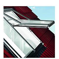 Мансардные окна Roto R7 деревянные утепленные 74х140 см