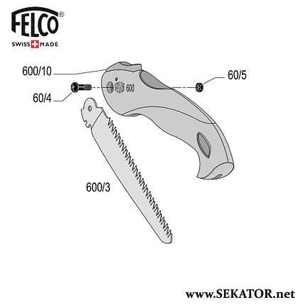 Змінні деталі до пили Felco 600, фото 2