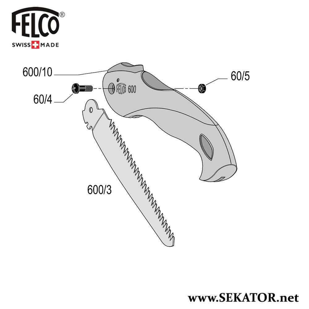 Змінні деталі до пили Felco 600