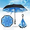 Зонт зворотного складання, Небо
