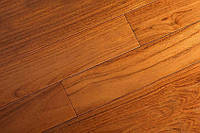 "Массивная доска ""Brand Wood"", Тик Dark под лаком 600-1200х120х18 мм, арт. 120TD-MD"