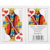 """Карти гральні """"король"""" 54 карти"""