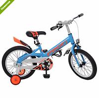 Велосипед двухколёсный детский 14 дюймов Profi Original W14115-2 голубой ***