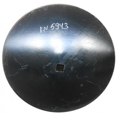 Диск бороны (сфера) БГР (D=710мм, кв.41мм толщина 6мм) (СОЛОХА) (Бор) (Велес-Агро)