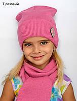 Стильная детская весенняя шапка мода 2018