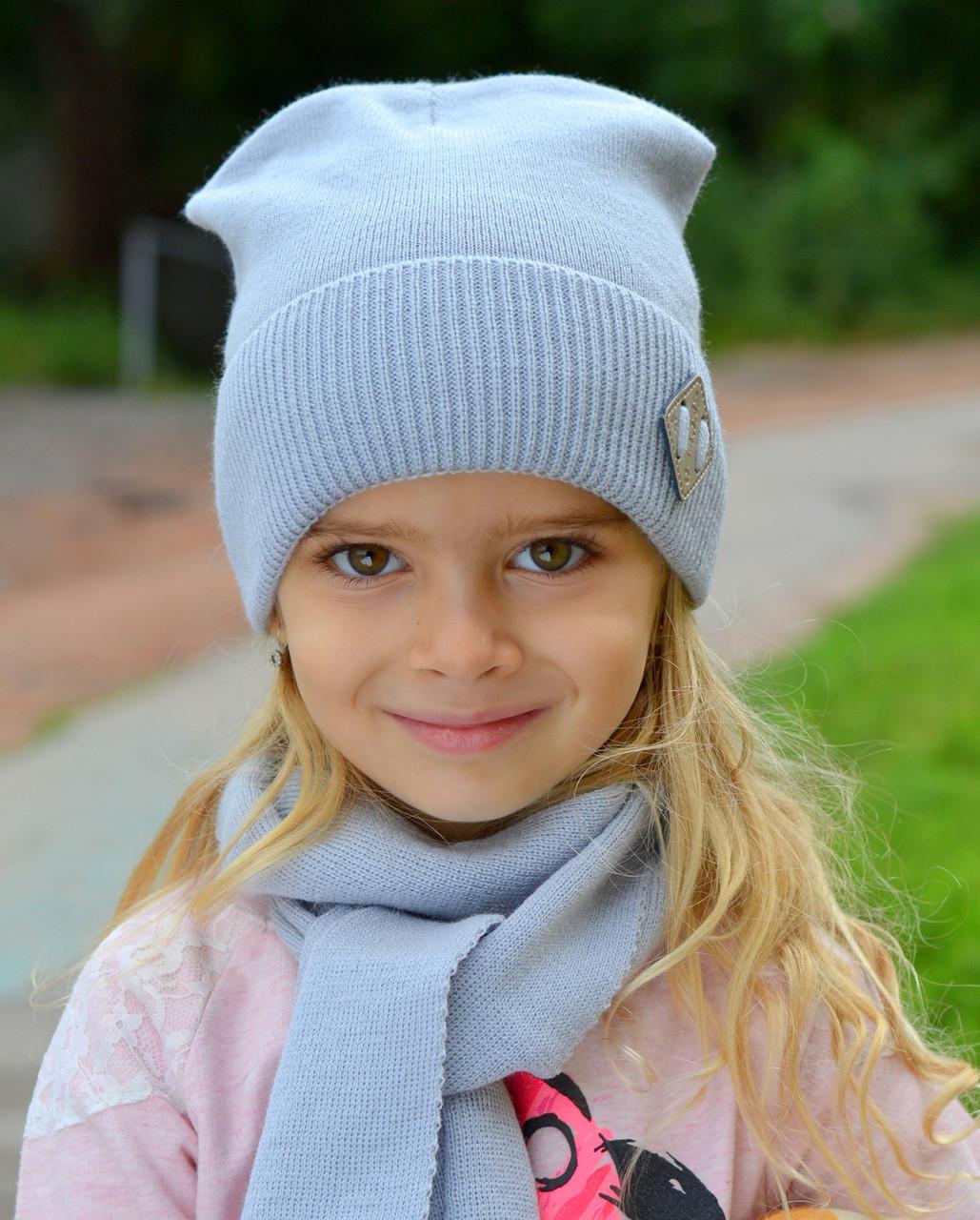 Модная детская шапка для подросков весна 2020