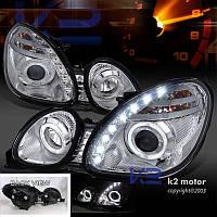 Тюнинг фары с LED и ангельскими глазками для Lexus GS300 / GS400 1998-2005