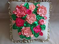 """Интерьерная подушка """"Розы"""", фото 1"""