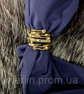 Ювелирное кольцо с сиреневым камнем