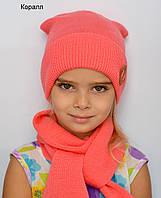 Детская подростковая шапка весенняя , фото 1