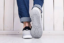 Мужские кроссовки Asics Gel Lyte черно - серые топ реплика, фото 3