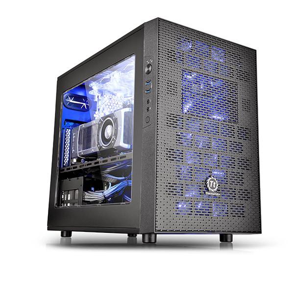 "Корпус Thermaltake Core X1 Black (CA-1D6-00S1WN-00) ""Over-Stock"""