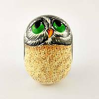 Неваляшка «Сова с зелеными глазами»