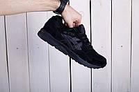 Мужские кроссовки Asics Gel Lyte 5 черные топ реплика