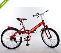 Велосипед двухколёсный детский 20 дюймов Profi Original W20115-1 красный ***