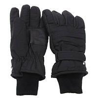 [Спец.ЦЕНА] Перчатки с утеплителем и манжетой чёрные (S) MFH 15474A