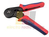 Инструмент HSC8.6-4 для опрессовки трубчатых наконечников 0,08-6мм