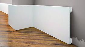 Плинтус под покраску Cezar Elegance LPC-31 белый матовый