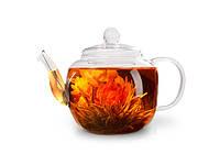 Чайник для заваривания чая Fissman 500 мл со стальным фильтром (жаропрочное стекло)