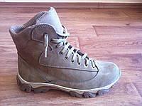 Мужские светлые полу - ботинки