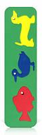 Развивающая и обучающая игрушка - Рамка-вкладыш - Фигурки животных, утки
