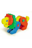 Развивающая и обучающая игрушка - Объемный конструктор ЛЕВ