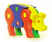 Развивающая и обучающая игрушка - Объемный конструктор СВИНЬЯ