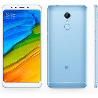 "Смартфон Xiaomi Redmi 5 Plus 3/32GB Blue, 8 ядер, 12/5Мп, 6"" IPS, 2SIM, 4G, 4000мА"