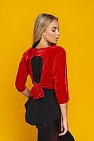 Блуза женская велюр
