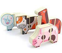 Развивающая и обучающая игрушка - Магнитные фигуры - Ферма