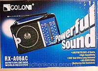 Портативный радиоприемник GOLON RX-A06AC