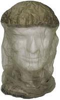 Компактная сетка от комаров на голову с резинкой и чехлом MFH 10463