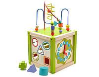 Развивающая и обучающая игрушка - Лабиринт - Универсальный куб