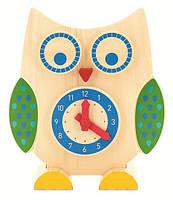 Развивающая и обучающая игрушка - Сова часы и счета