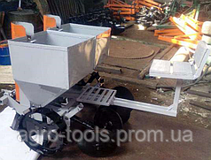Картофесажалка двухрядная тракторная с сидением (150л)