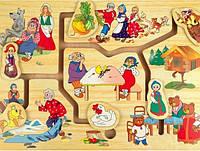 Развивающая и обучающая игрушка - Лабиринт МИР СКАЗКИ 1