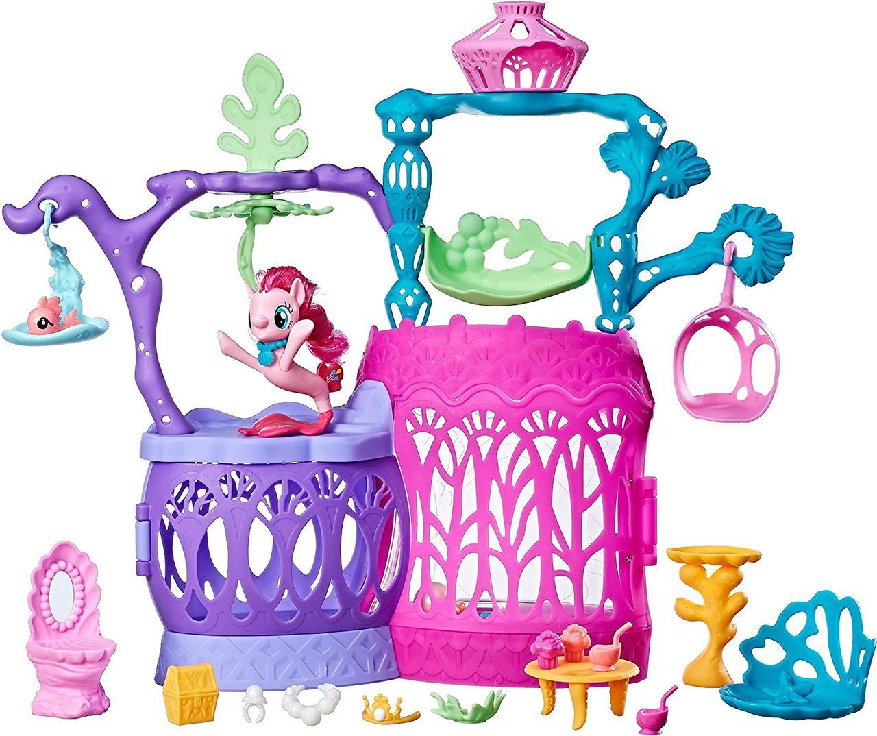 Подводный замок Пинки Пай Мерцание Май Литл Пони My Little Pony Hasbro C1058