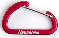Мини карабин Naturehike 4см красный